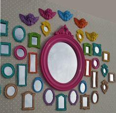 espelho com moldura de gesso - Pesquisa Google