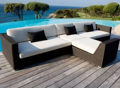 The Belmont Modular Lounge System Is Handwoven With The Maintenancefree Cane  Line Fibers. You Can Combine The 5 Diffrent Modules Any Way You Like, ...