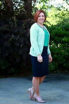 Savvy Southern Chic: Shades of green