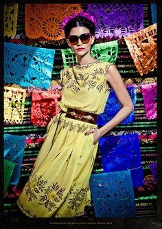 Lena Hoschek  de su colección Spring/Summer 2013