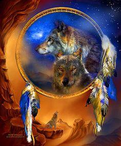 Carol Cavalaris - Dream Catcher - Wolf Dreams