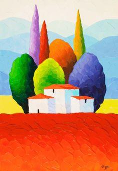 Sveta Esser   Originals on Canvas   Land Of Enchantment   Smart Publishing