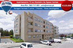 VENDA - Apartamento T3 ao Mosteiro de Águas Santas http://www.remax.pt/123551032-191  Comigo Está Vendido! Ana Rio : 963 717 081 : ario@remax.pt