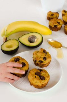 >>>Cheap Sale OFF! >>>Visit>> Avocado banana muffin recipe chocolate chip healthy dairy free low sugar for kids healthy snack kids in the kitchen cooking with kids Baby Food Recipes, Cooking Recipes, Healthy Recipes, Cooking 101, Cooking Videos, Cooking Light, Muffin Recipes, Cooking Quotes, Cooking Rice