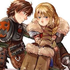 Cheer up Astrid - Hiccup