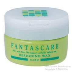 http://www.beauba.com/products/detail.php?product_id=12299 Napla Fantascare Designing Wax Hard 120g. #Styling #Wax  Styles hair while conditioning it with 4 naturally-extracted essences: herbal extract. fish-derived collagen / conchiolin and silk protein. Provides movements in hair ends and hair tufts. Finishes naturally without being heavy with hard setting...