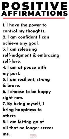 20 Positive Affirmations for Women. Get your daily dose of inspiration & kick ne. - motivation - 20 Positive Affirmations for Women. Get your daily dose of inspiration & kick negative self talk to - Affirmations For Women, Daily Positive Affirmations, Positive Affirmations Quotes, Affirmation Quotes, Positive Mantras, Morning Affirmations, Healthy Affirmations, Self Esteem Affirmations, Positive Words