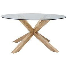 Todd Dining Table Diameter 150cm Natural