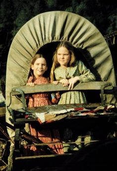 Mary & Laura, sisters...little house on the prairie was one of my favourite tv programs