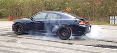 Here's A Nice Official Charger SRT Hellcat Burnout For You