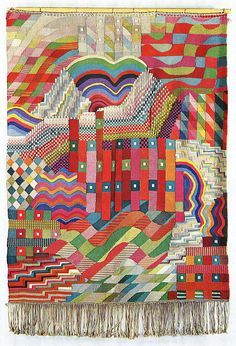 Gunta Stolzl Bauhaus Weaving, Integration of abstract composition and woven pattern,