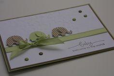 """Baby Karte Geburt Junge """"Elephant"""" von Das Werk der Feen auf DaWanda.com"""