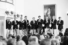 Love some of the ideas in this list of wedding ideas - hire an acapella group from your alma mater
