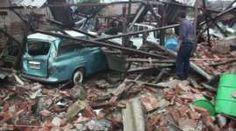 Tornado tears through China township - BBC News