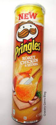 Pringles Roast Chicken & Herbs (UK)