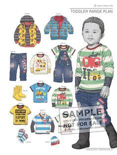 Style Right Babywear Trendbook - Childrenswear A/W 2017/18