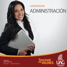 Como Licenciado en #Administración #UAG podrás emprender tu propio negocio, así como laborar en cargos de alta gerencia en diversas áreas de la organización.