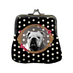 Bulldog Noir Purse, 15€, now featured on Fab.