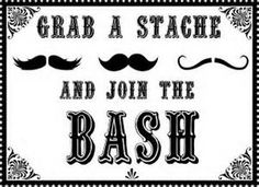 free mustache printables - Yahoo Image Search Results