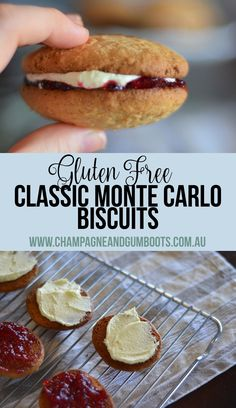 Whether you're a short and sweet Shortbread lover, or a solo Kingston devout, you'll definitely love these classic Australian gluten free Monte Carlo bikkies! Perfect for the coeliac or gluten intolerant who misses their traditional Arnott's biscuits! Gf Recipes, Gluten Free Recipes, Sweet Recipes, Dessert Recipes, Cooking Recipes, Aussie Food, Australian Food, Monte Carlo Biscuits, Kingston Biscuits