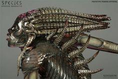 species movie alien- Giger