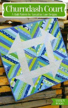 - Churndash Court Pattern Only SASSLN0013 - Craft Town Fabrics