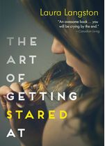 Teen diagnosed with incurable illness.  Learn more at Quill and Quire:  http://www.quillandquire.com/review/the-art-of-getting-stared-at/  Read about all the books at the Forest of Reading website: https://www.accessola.org/web/OLAWEB/Forest_of_Reading/Awards_Nominees/White_Pine_Fiction_Nominees.aspx