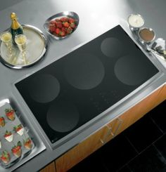 """GE PHP960SMSS Profile 36"""" Stainless Steel Electric Induction Cooktop by General Electric, http://www.amazon.com/dp/B0011YJE8I/ref=cm_sw_r_pi_dp_xZdatb0KBXW3E"""