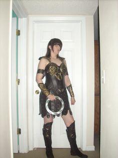Coolest homemade xena the warrior princess costume warrior xena costume cosplay diy armor with bangs solutioingenieria Gallery