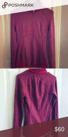 Lululemon Pullover Long-sleeve pullover, perfect for running! lululemon athletica Tops Sweatshirts & Hoodies
