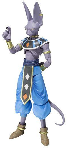 "Buy Bandai Tamashii Nations S.H.Figuarts Beerus ""Dragon Ball Z"" Action Figure…"