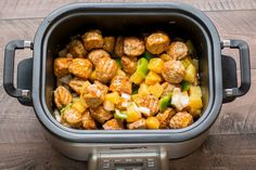 On busy days running errands, it can be tempting to get takeout, but this incredibly easy recipe gets you that restaurant flavor all in an easy one-pot slow-cooker meal.