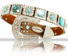 Rhinestone bling western belts from www.countrysoulbling.com