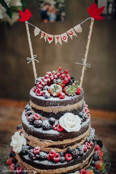 Naked Cake Para Casamento Veja Receitas E Ideias