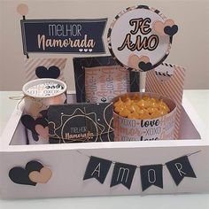 Birthday Surprise For Husband, Surprise Box, Birthday Gifts For Boyfriend, Boyfriend Gifts, Birthday Hampers, Surprises For Husband, Birthday Breakfast, Cake Business, Cafe Food