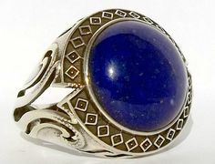 925 Sterling Silver Men's Ring with Totally by lunasilvershop, $94.90