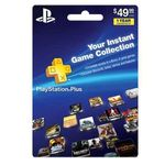 1-Year PlayStation Plus Membership $40 + Free Shipping