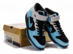 premium selection cfe79 b30a0 kd high tops  Nike Dunk SB Midten Mænd Blå Sort Grå Sko