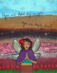 You are held by Angels Sweet Hayley ♥ Your Mama and others who now live up in Heaven always have their wings wrapped around you. ♥ We will all be together again with Jesus and there we will live happily forever.... this is a promise. ♥