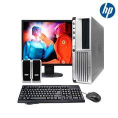 """5-Piece Set: HP Windows 7 Home Premium Dual-Core 2.8GHz 80GB 17"""" Desktop PC Bundle"""