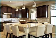 kitchen island with seating for 6 Photos