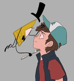 Gravity Falls| Bill Cipher/Dipper Pines| BillDip