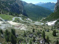Passo Falzarego, Dolomite Mountains, Italy