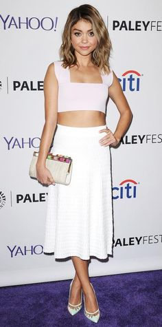 Look of the Day - March 16, 2015 - Sarah Hyland in A.L.C. from #InStyle