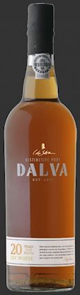 Dalva 20 Years Old Dry White. Gamme actuelle.