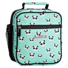 My Haven loves Pandas: Gear-Up Pool Panda Classic Lunch With Mesh Side Pocket #pbteen