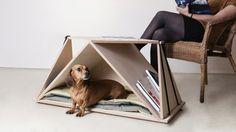 Fabbricabois - Nidin, une niche d' intérieure-table design