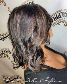 Sweet Cola Brown Hair With Brown Sugar Blonde Highlights  #bootleggersbeautysalon #burlingtonncsalon #darkhairwithcarmelhighlights #fallhair #beautifulhair #getyourshineon #burnettehaircolor #joicocolor
