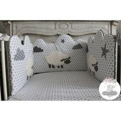 tuto tour de lit nuage couture pinterest tour de lit lit pour b b et tuto tour de lit. Black Bedroom Furniture Sets. Home Design Ideas