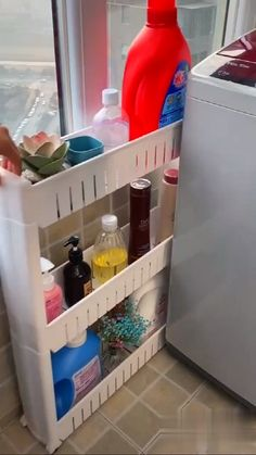 Bathroom Organization 854769204265233780 - Refrigerator Gap Storage Organizer Layers Organizing Shelf Source by mariongalitzki Organizing Hacks, Storage Hacks, Storage Shelves, Kitchen Organization, Storage Organization, Diy Storage Solutions, Cool Storage Ideas, Small Home Organization, Organising Ideas